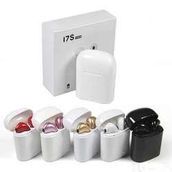 Audífonos Bluetooth I7S TWS Inalámbrico Alta Calidad A1 color  negro