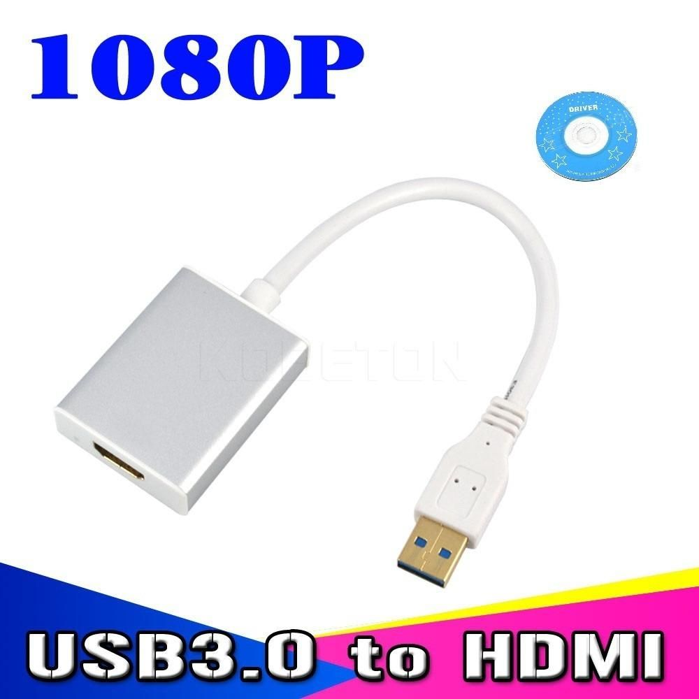 ADAPTADOR DE VIDEO EXTERNO USB 3.0 A HDMI 1080P