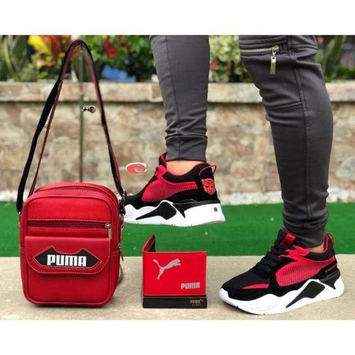 Tenis Puma Transforme para Hombre
