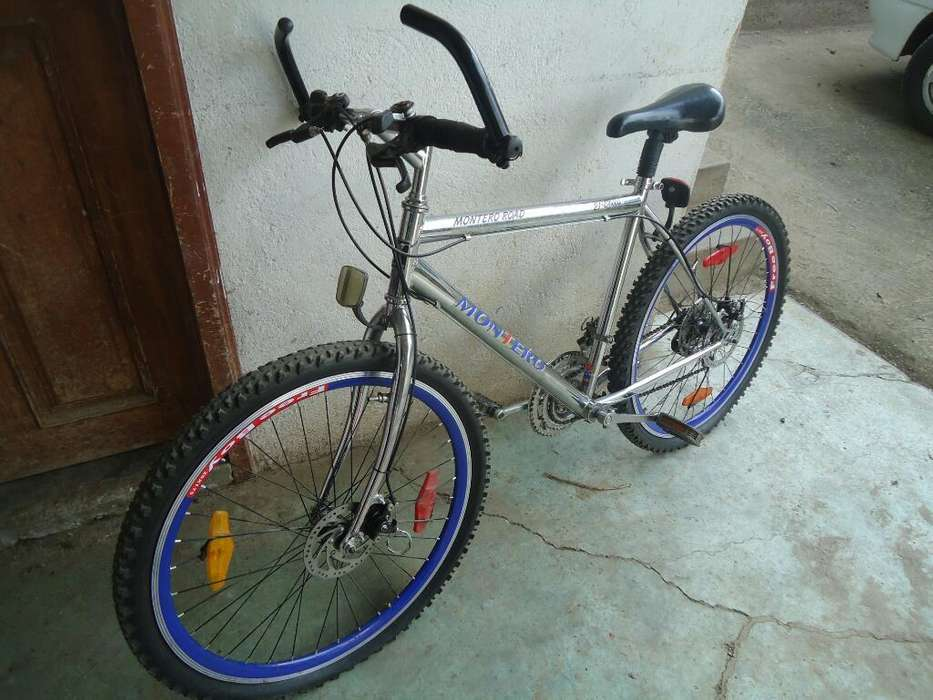 Vendo Bicicleta Montero Aro 26