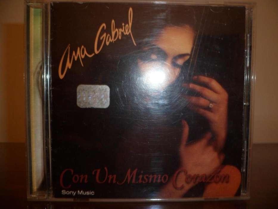 Ana Gabriel Con Un Mismo Corazon Cd Cds Dvds 992611800