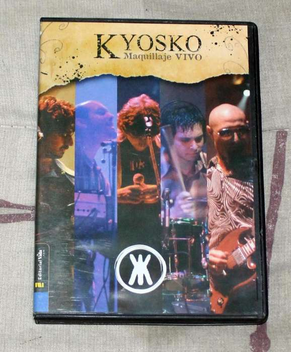 Kyosko Maquillaje Vivo DVD Recital
