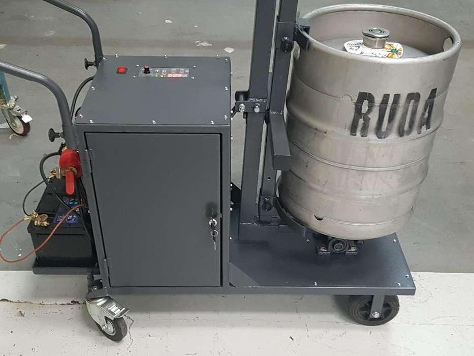 Agitador Carbonatador Barril de Cerveza