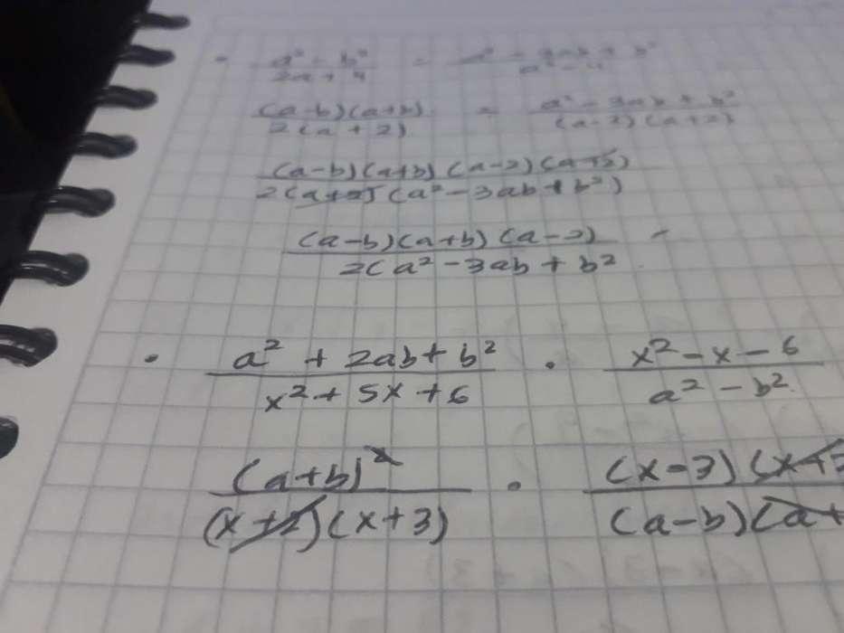 Enseño Matematicas Bachillerato.