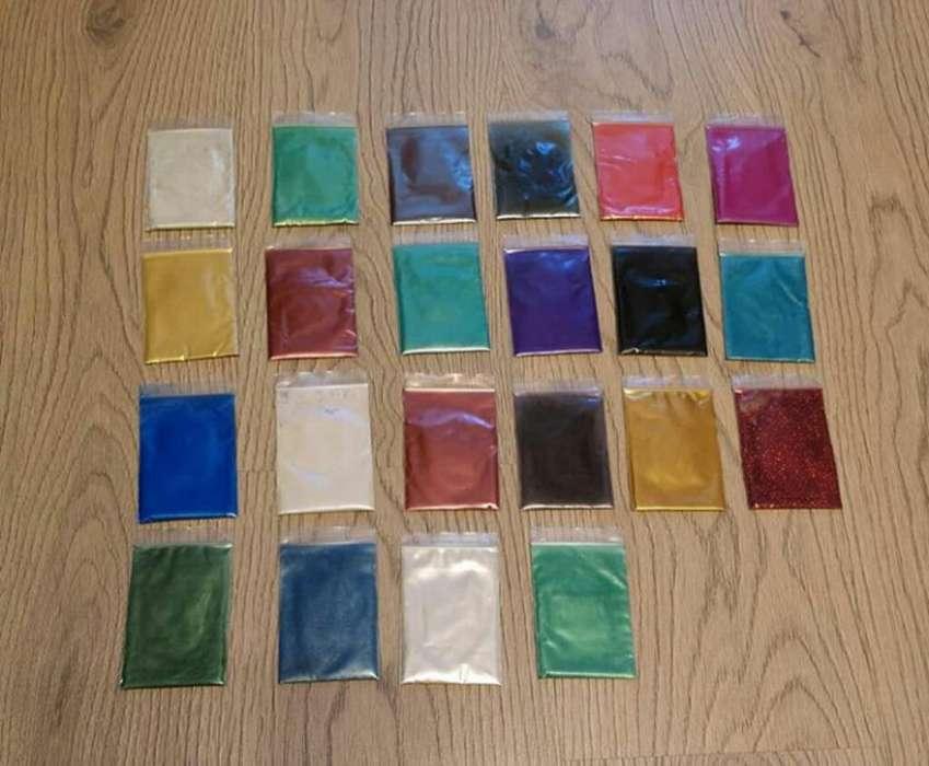 Pigmentos en Polvo para Resina Epoxica
