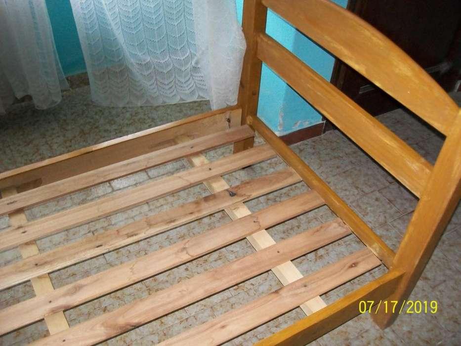 <strong>cama</strong> de 1 plaza un solo uso muy buena