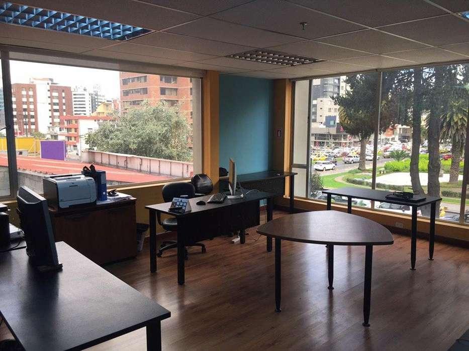 Renta/ Alquiler oficina, sector la Carolina, norte de Quito