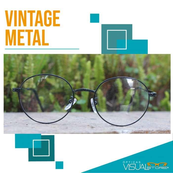 Armazones Estilo Vintage Metal!