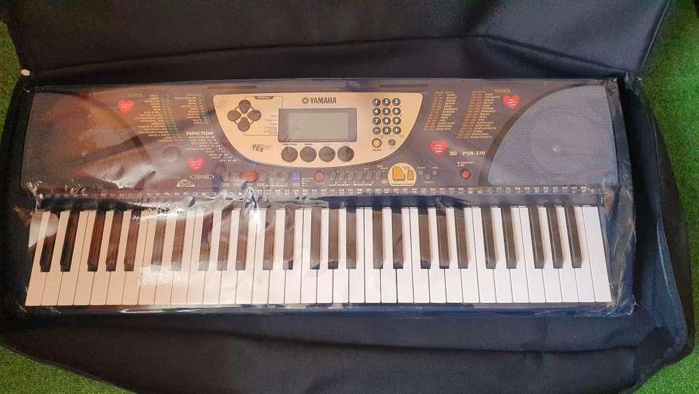 vendo teclado YAMAHA PSR 270