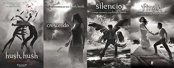 Libros Saga Completa Hush Hush