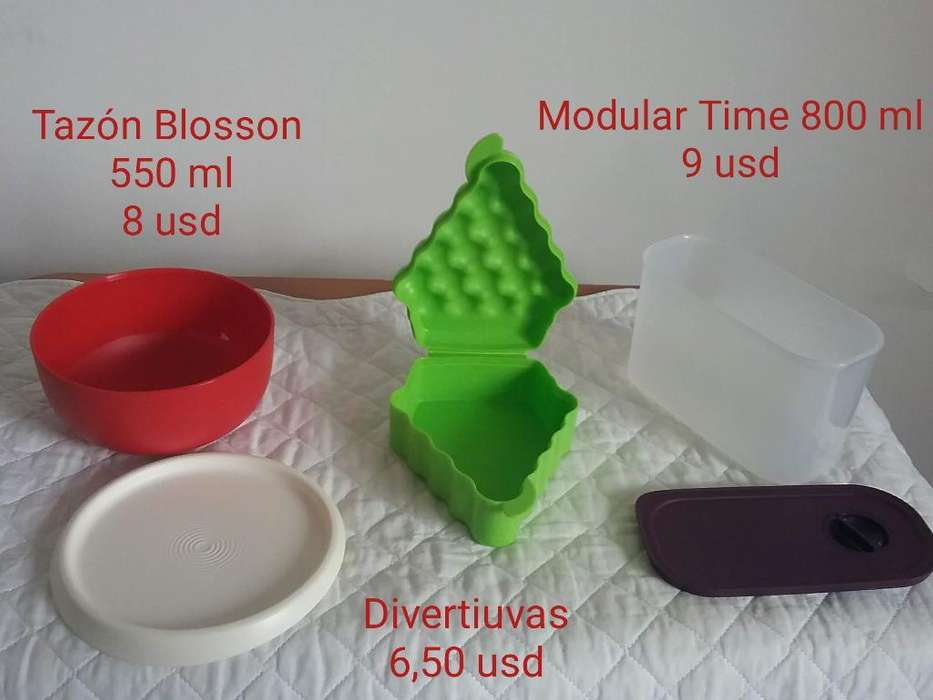 Tupperware : Divertiuvas, Tazon Blosson
