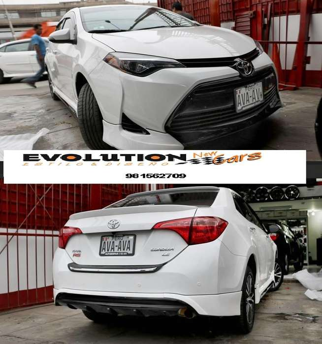 BODY KIT TOYOTA COROLLA 2014 - 2017