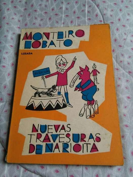 Nuevas Travesuras de Naricita . Monteiro Lobato . Libro Losada