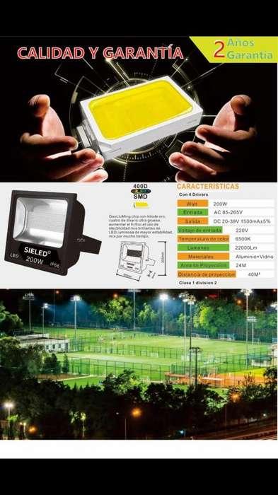 Reflector Led 50watts hasta 400watts