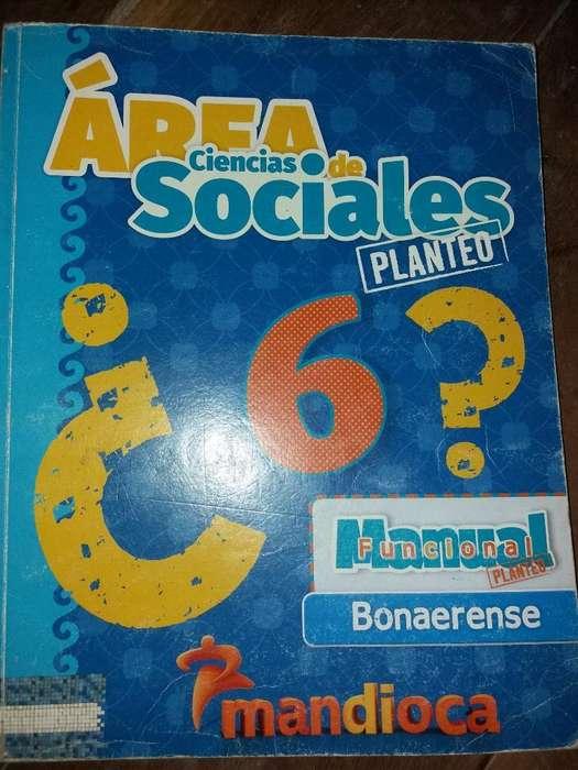 Ciencias Sociales 6. Editorial Mandioca