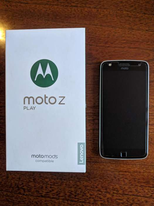 Moto Z Play Impecable