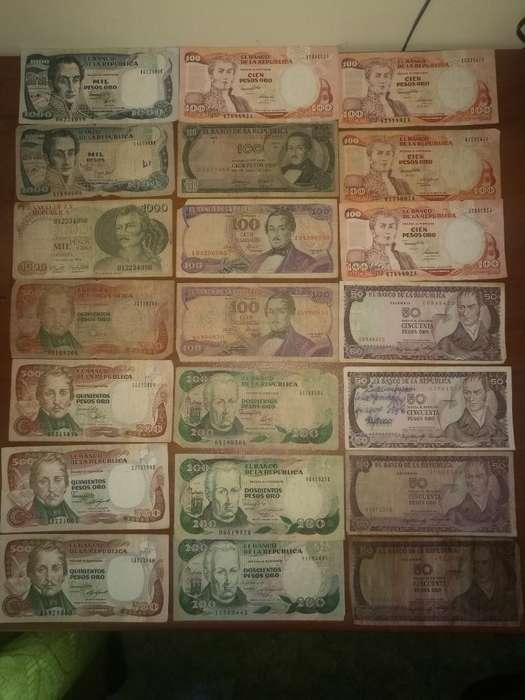 Billetes de Colección Varios Paises