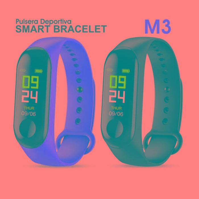 Smart Bracelet M3 / Reloj Deportivo Fitness