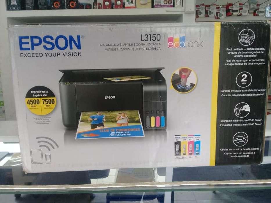 Impresora L3150 con Wifi Multifuncional