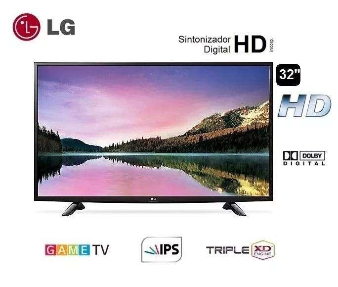 Tv LG Led 32pulg Hd, Game Tv, Hdmi, USB, Sintonizador Digital