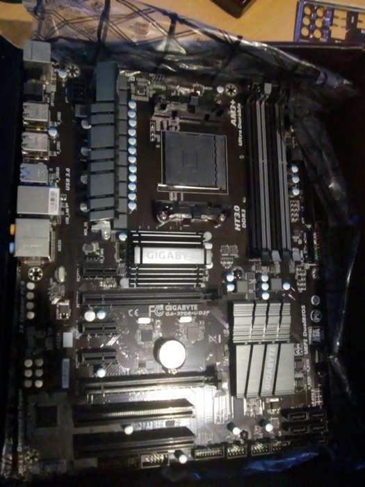 motherboard am3 gigabyte ga-970a-ud3p nueva soporta fx, es gama alta