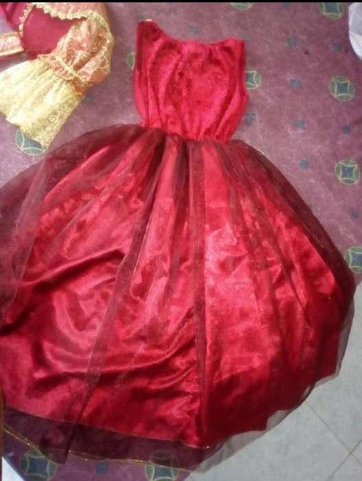 Se Vende Hermoso Disfraz de Princesa