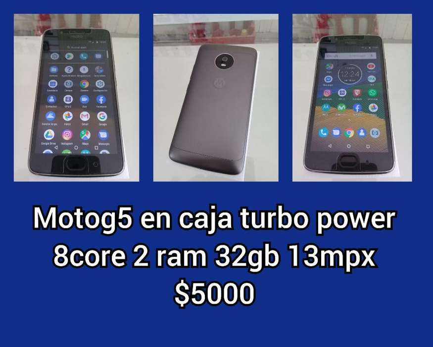 Moto G 5 Impecables