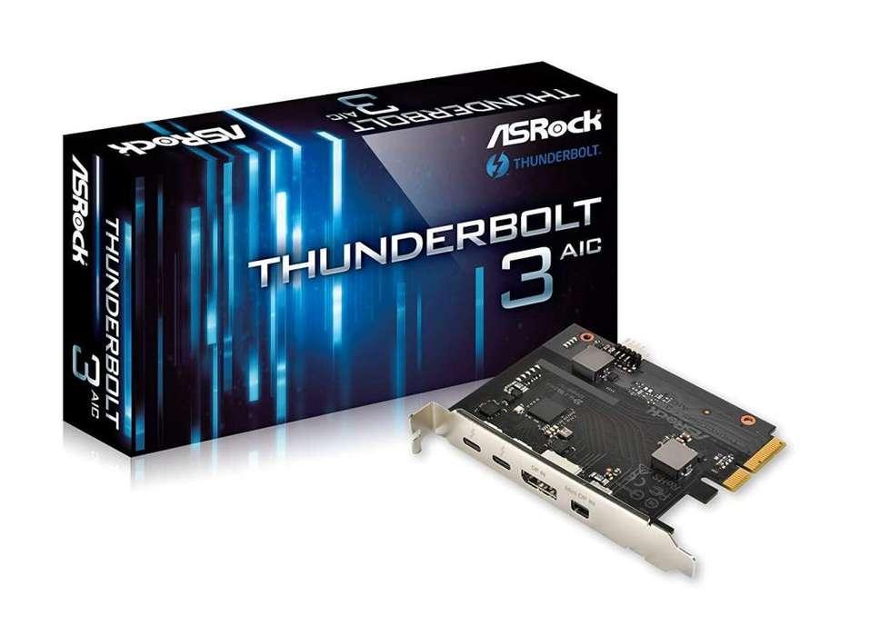 ASROCK THUNDERBOLT 3 PCIe CARD NUEVA EN EMBALAJE
