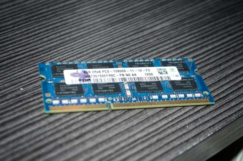 Memoria Ram DDR3 Portatil 4gb y una de 2gb