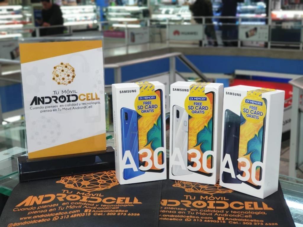 Samsung Galaxy A30 de 64GB - Nuevo, libre, original, garantizado.