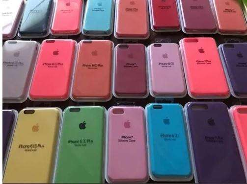 Case Silicona original Iphone 5/5s/Se 6/6s/6plus 7/7Plus 8/8plus/ Iphone X / Con Mica de Vidrio de regalo Wsp 930350076
