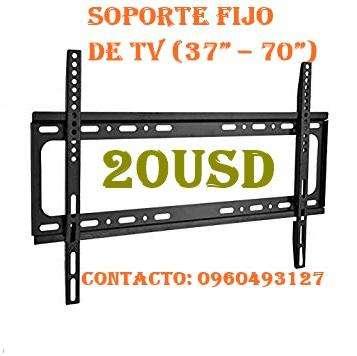 """Soporte fijo de tv 37"""" – 70"""" a 20 USD"""