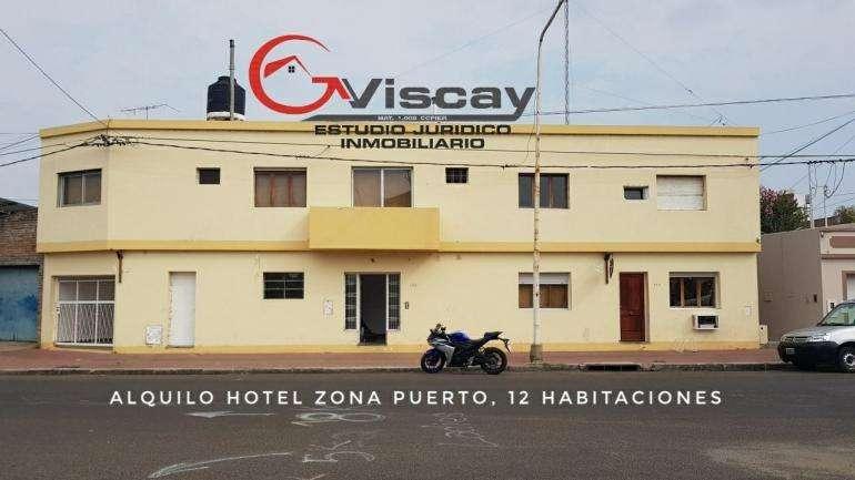 ALQUILO HOTEL EN PARANA. 12 HABTACIONES.