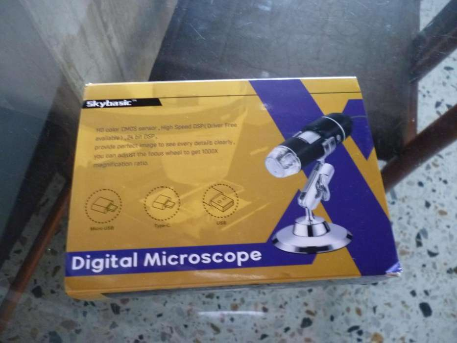 microscopio para computador o celular - vencambio
