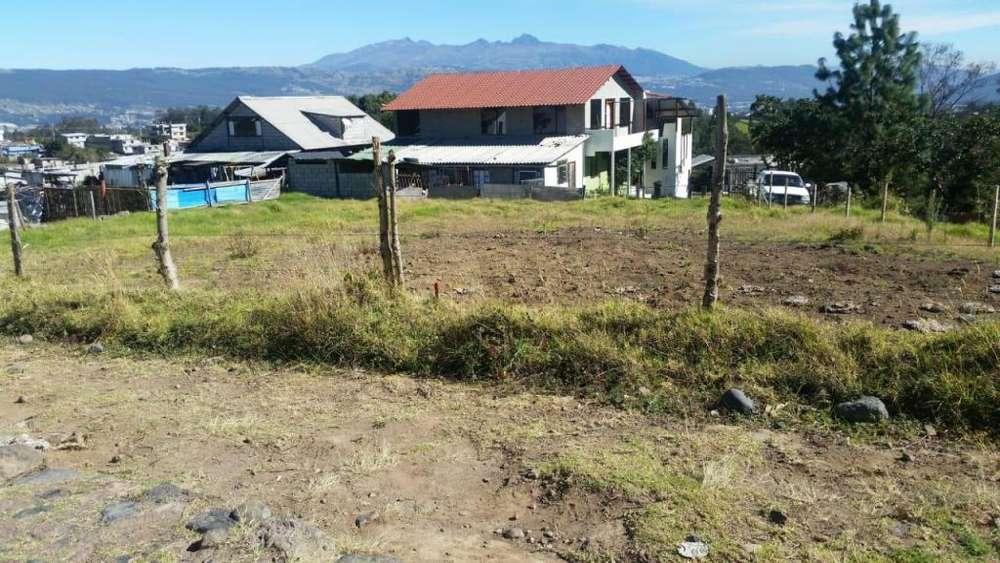 Venta de hermoso terreno Sector San Vicente Sangolqui