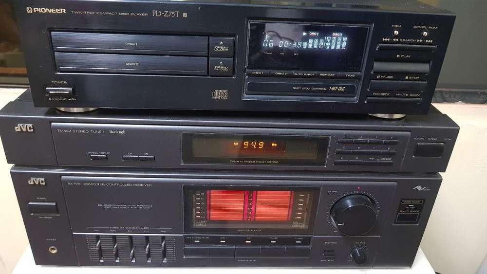 Amplificador Jvcr75