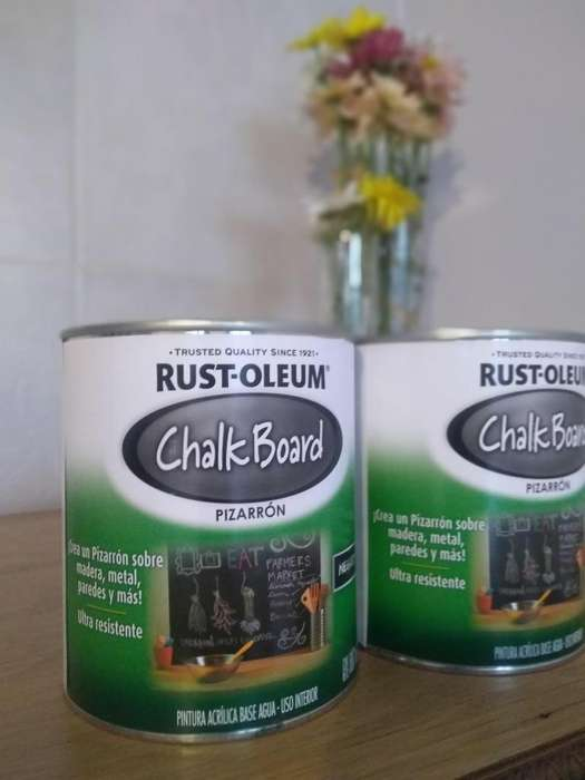 Pintura para pizarra Rust Oleum- 1 litro-