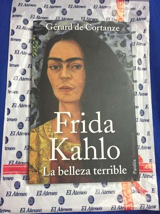 Libro FRIDA KAHLO La Belleza Terrible. USD 25 NEGOCIABLES.
