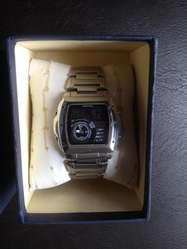 Bucaramanga Casio Hora Doble Reloj Edifice Cuadrado ED2W9IH