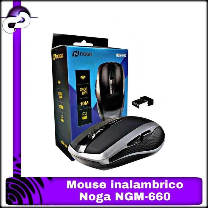 MOUSE INALÁMBRICO NOGA NGM660 2400DPI
