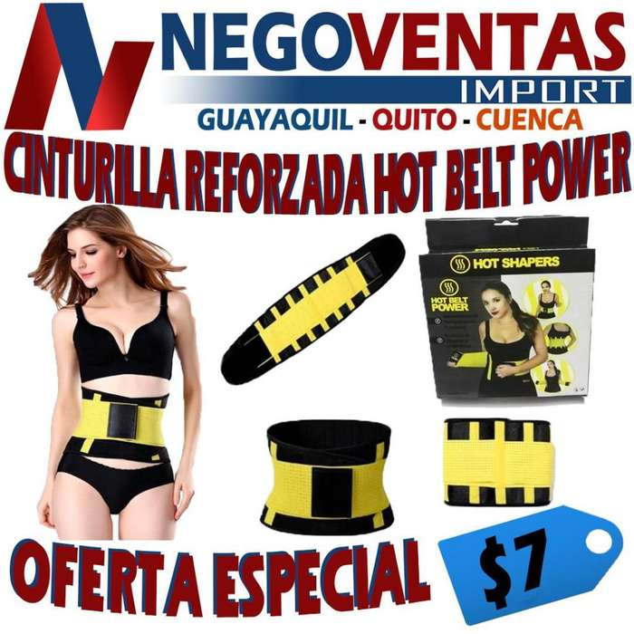 CINTURILLA REFORZADA HOT BELT POWER