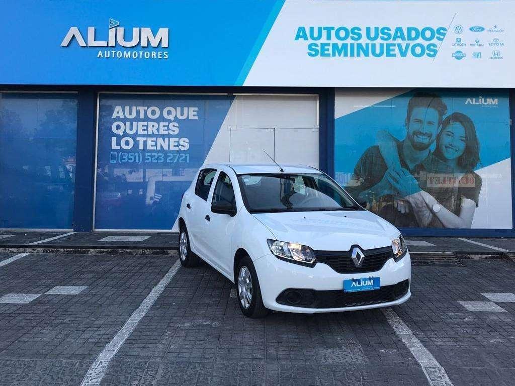 Renault Sandero 1.6 Expression Pack 2015 Entrega 171.000 y cuotas! Solo DNI