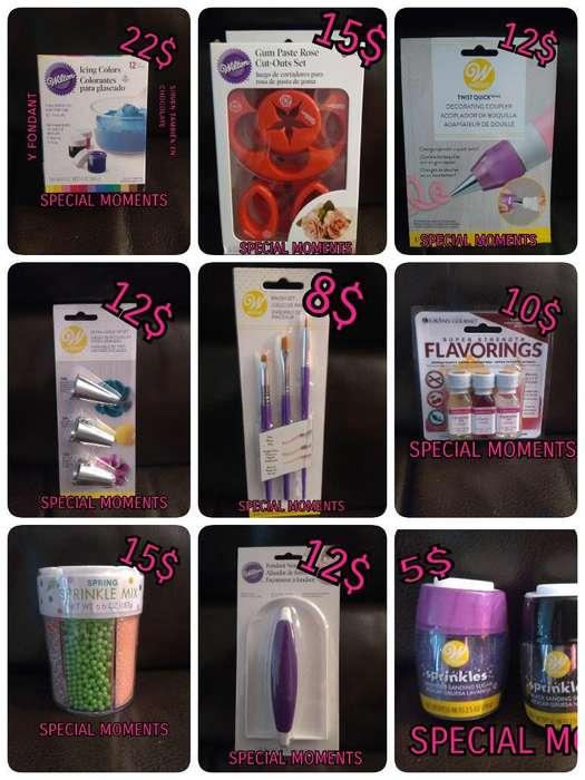 Productos de Pastelería Marcá Wilton