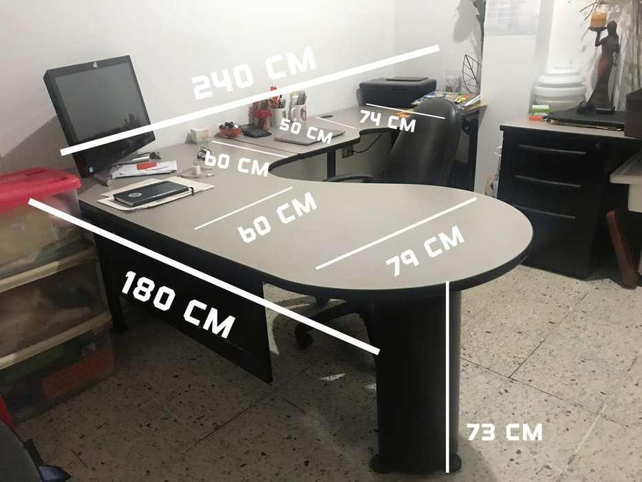 Muebles de oficina con cajonera - Excelente estado