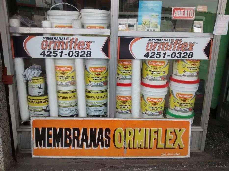 Colocación de membranas ormiflex