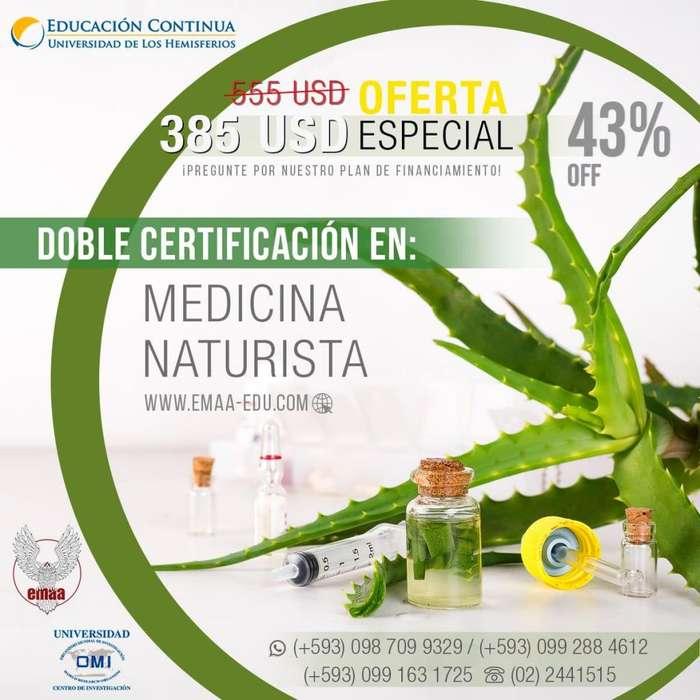 <strong>diplomado</strong> en Medicina Naturista