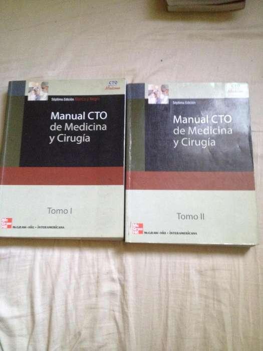 Se vende: Manual CTO de Medicina y Cirugía