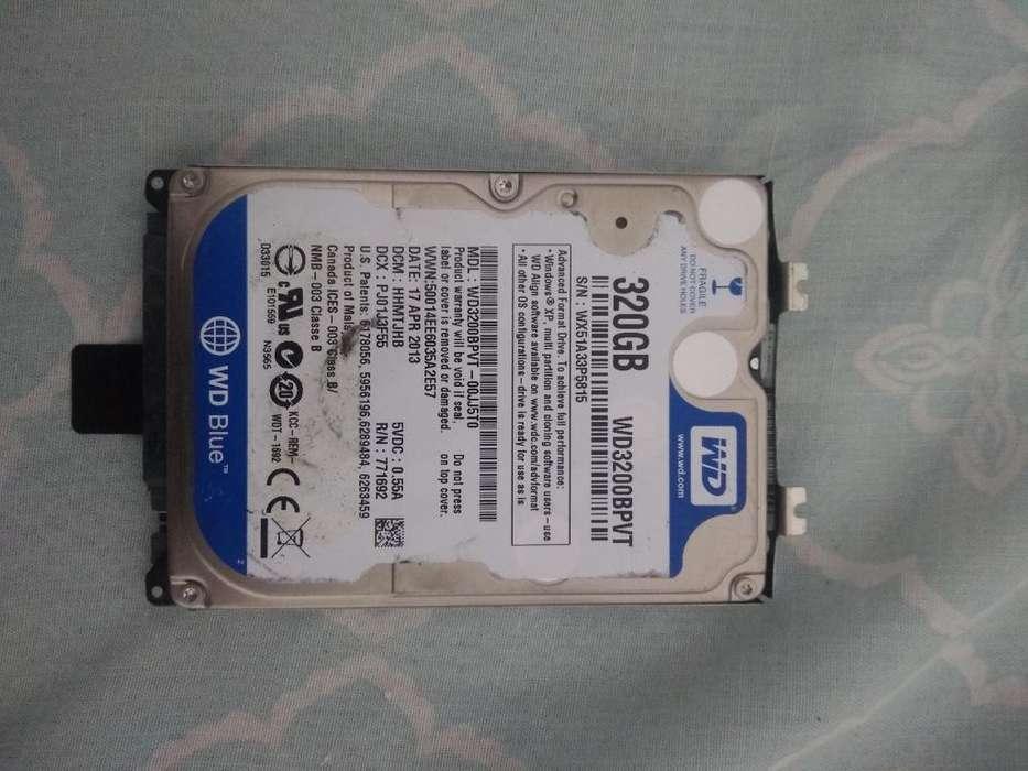 Disco Duro de Portatil 320 Gb
