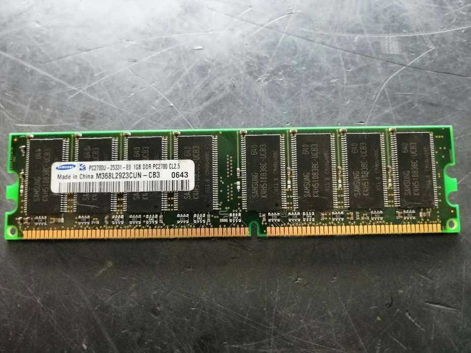 Memoria Ram Ddr de 1gb