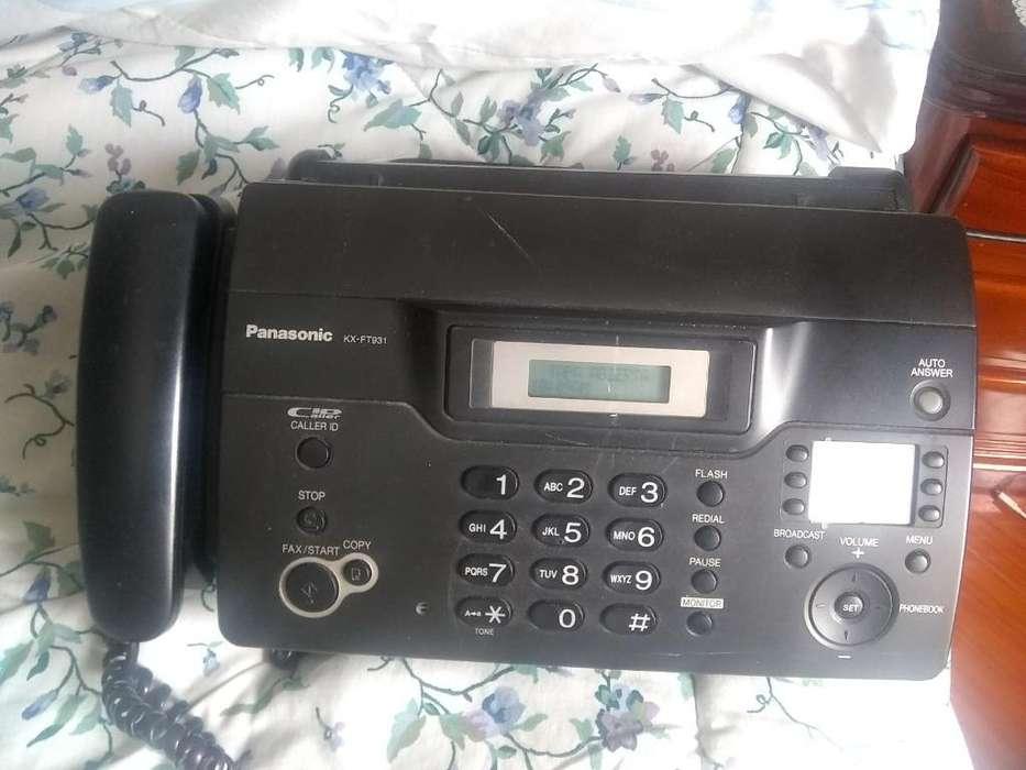 Teléfono <strong>fax</strong> Panasonic (kx-ft931)